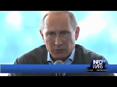 VIDEO: NUCLEAR PUTIN SAYS DON'T MESS WITH RUSSIA Russian president warns of nuclear war if Russia is threatened Below is the full version provided by RT. Skip to the 1 Hour, 38 Minute mark for Putin...